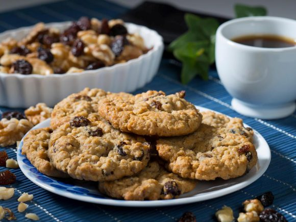 Oatmeal Apple Butter Cookies