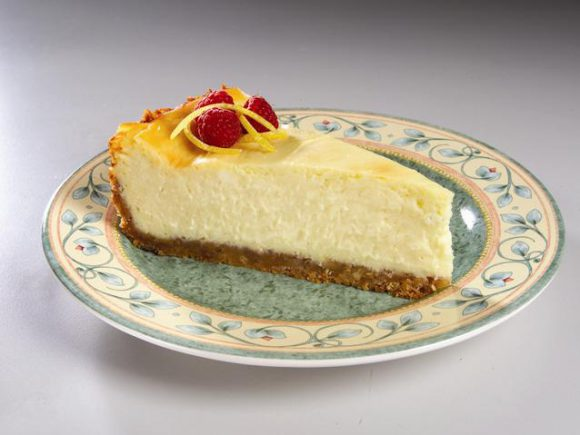 Lemon Twisted Cheesecake