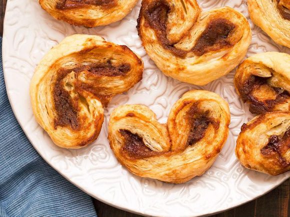 Apple Butter Palmiers