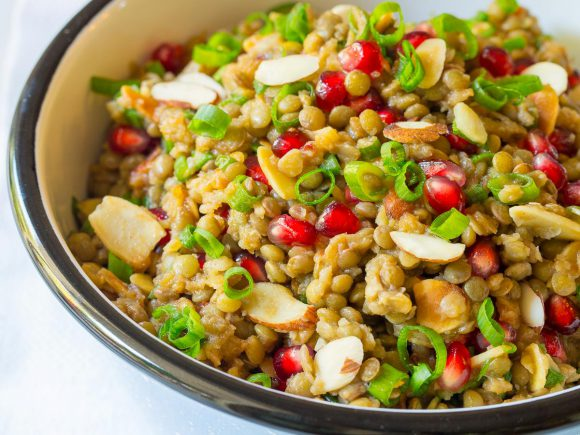 Lentil Salad with Apple Cider Vinaigrette