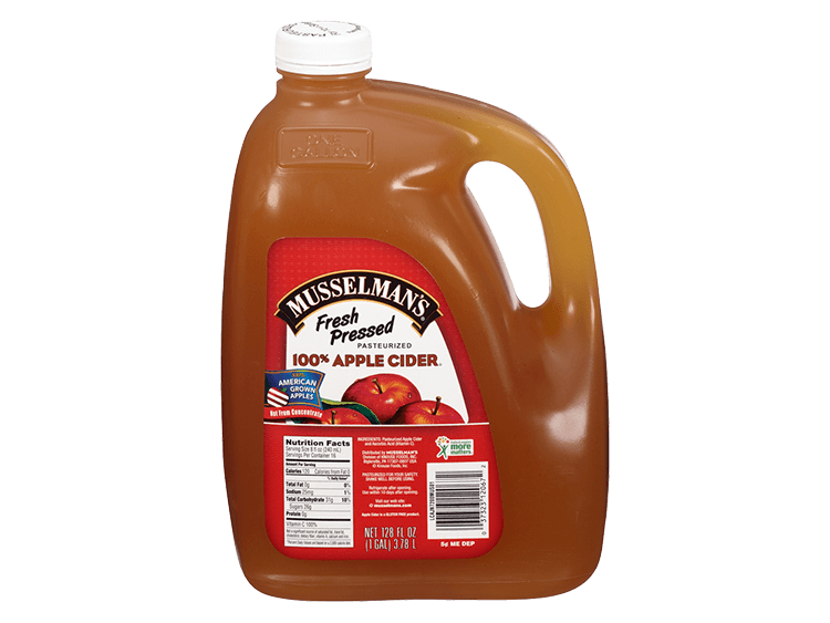 Musselman's Fresh Pressed Cider, 128 oz.