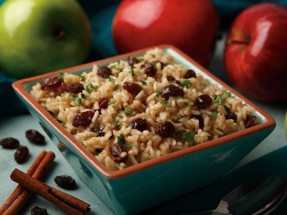 Cinnamon Apple Rice