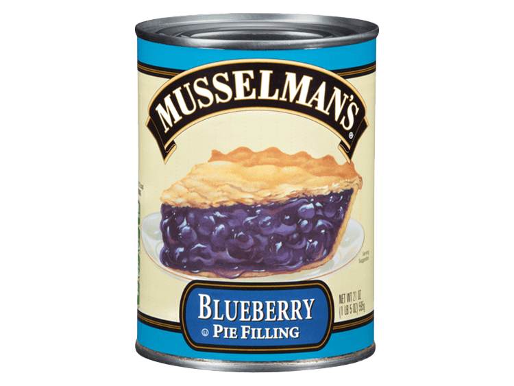 Musselman's Blueberry Pie Filling, 21 oz.