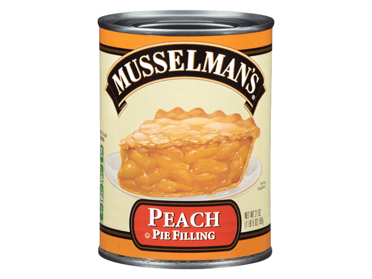 Musselman's Peach Pie Filling, 21 oz.