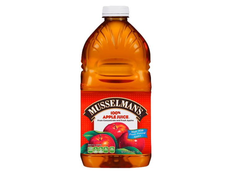Musselman's Apple Juice, 64 oz.