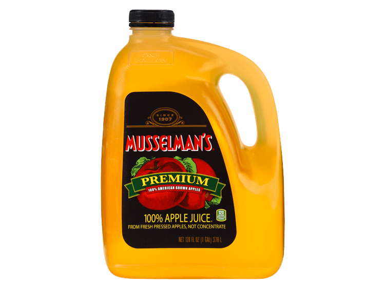 Musselman's Premium Apple Juice, 128 oz.