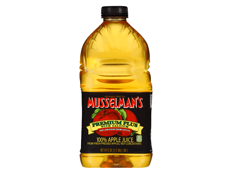 Musselman's Premium Plus Apple Juice, 64 oz.